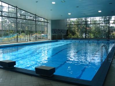 Bazén slaná voda